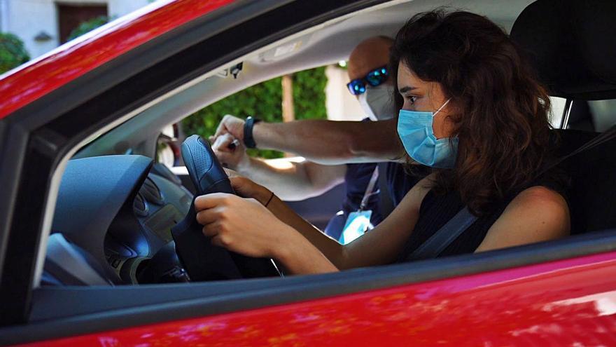 Més de 15.000 alumnes estan a l'espera de l'examen de conduir