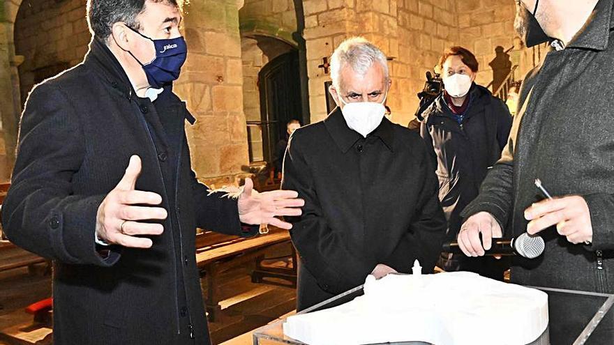 La Xunta destina 900.000 euros a la rehabilitación de la iglesia de Santa María de Oia