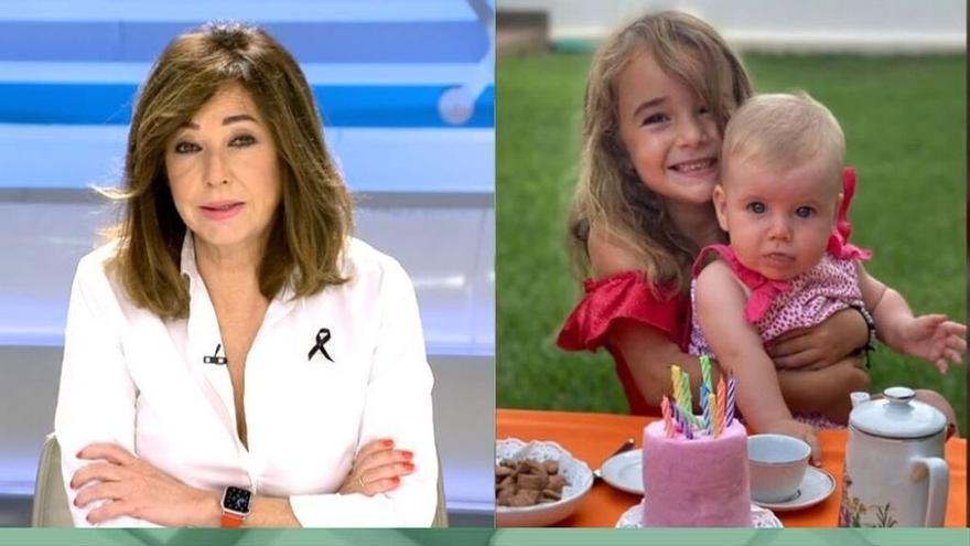 """Ana Rosa da el pésame a la madre de las niñas de Tenerife: """"Vamos a intentar que tú no te hundas"""""""