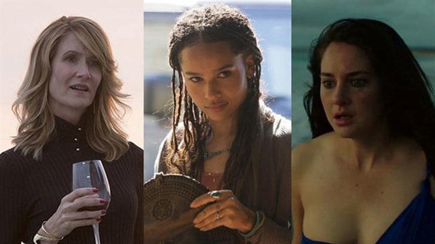 'Big Little Lies': Shailene Woodley, Laura Dern y Zoe Kravitz estarán en la 2ª temporada