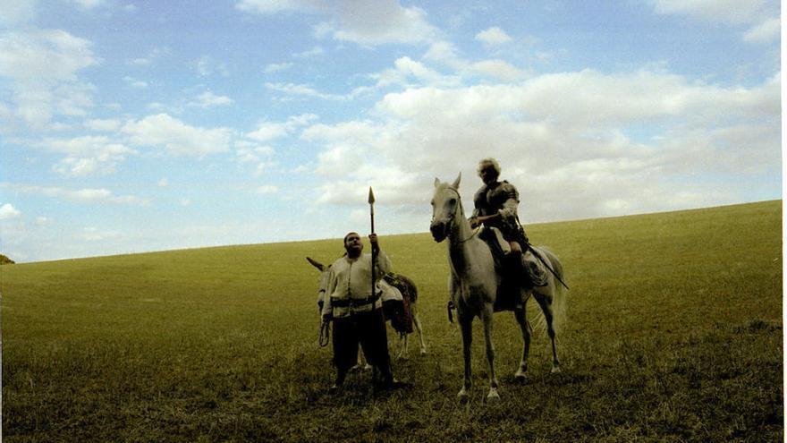 Clouen les Jornades Cervantes projectant 'Honor de cavalleria'