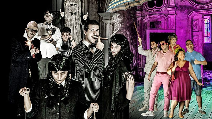 Proyecto Platea lleva 'La Familia Addams' hasta el Lago Martiánez