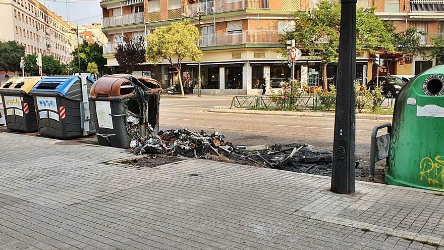 El vandalismo en contenedores cuesta 607.000 euros en 2 años