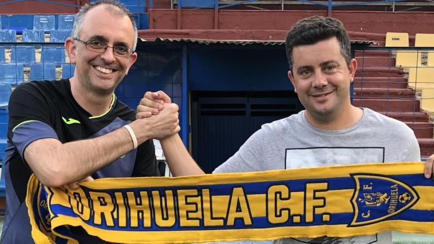 El Orihuela renueva dos años al entrenador Villafaina