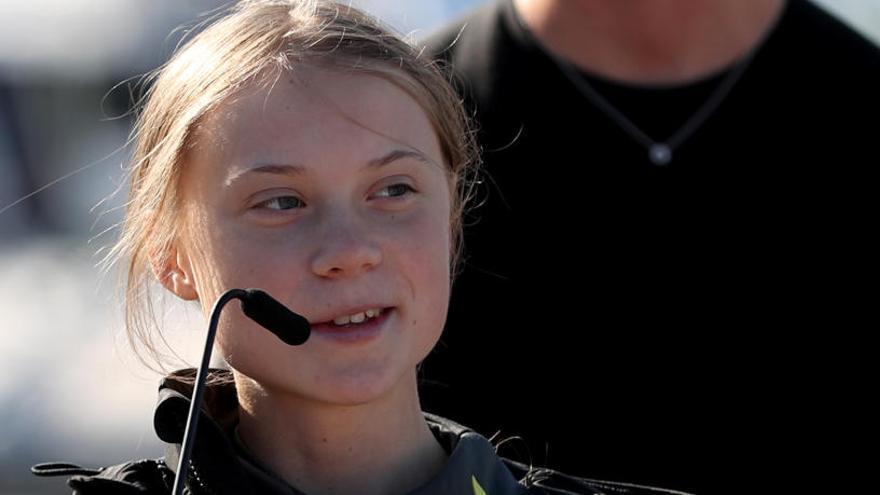 """Thunberg, contra el acoso a niños que hablan de ciencia: """"Estamos ganando"""""""