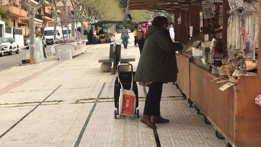 El mercado de Andratx se ha celebrado con garantías de seguridad