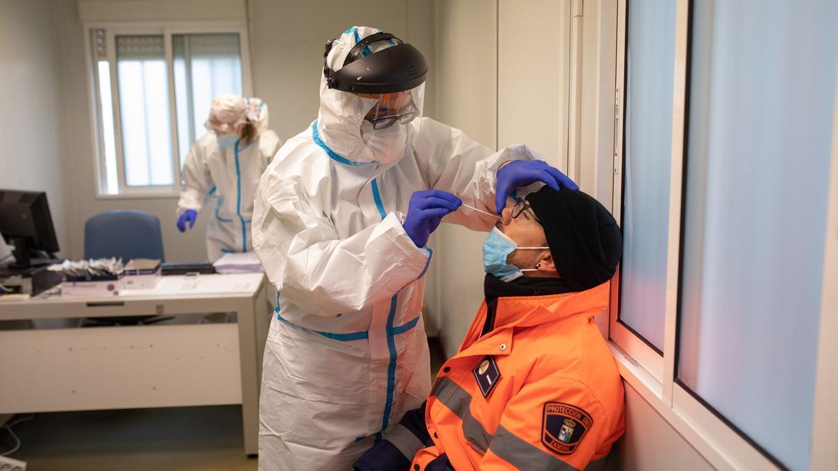 Pruebas de diagnóstico del coronavirus en Zamora