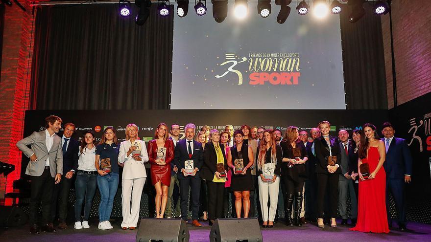 Woman y Sport otorgan los primeros premios a la mujer en el deporte