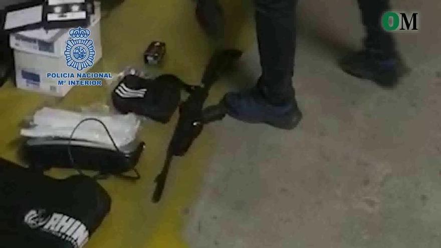 Golpe a Los Romualdos: cinco detenidos y 23 kilos de cocaína intervenidos