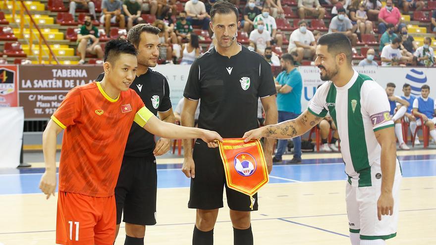 El Córdoba Futsal se fortalece ante Vietnam en Vista Alegre