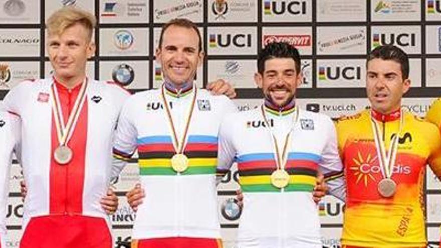 Ignasi Ávila guanya el Mundial de ciclisme adaptat en tàndem