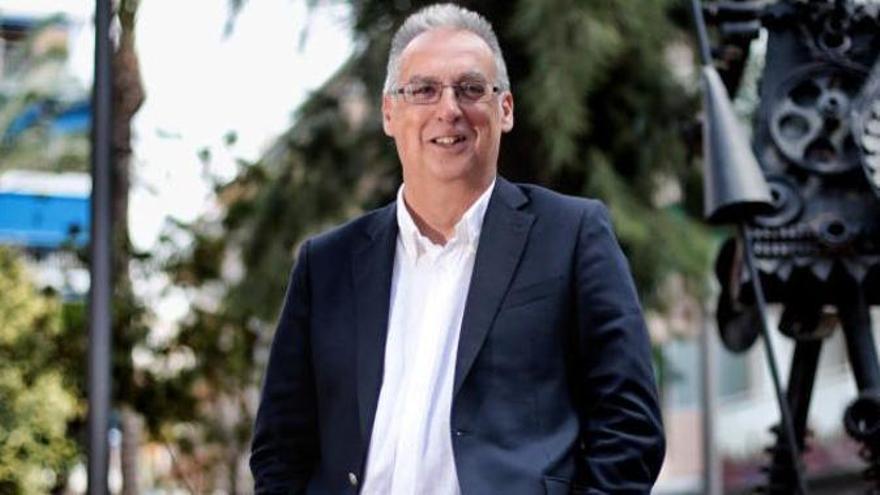 Agustín Navarro en una imagen de archivo.