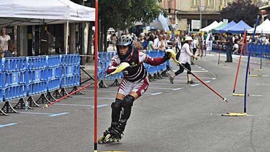 Aura Coronado revalida el campionat estatal de gegant
