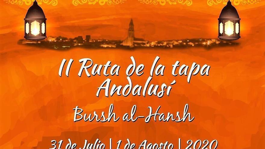 Segunda Ruta de la Tapa Andalusí, esta noche y mañana en Bujalance