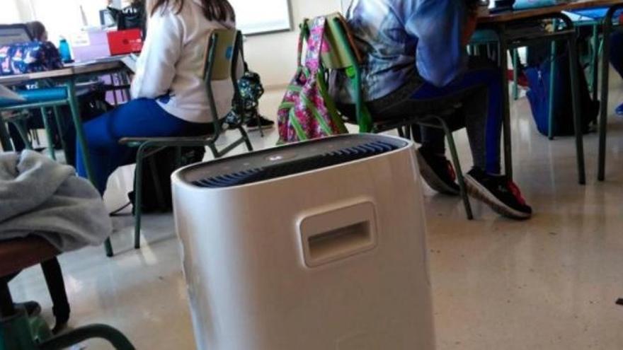 Casi el 95% de las aulas no disponen de purificadores de aire en Baleares