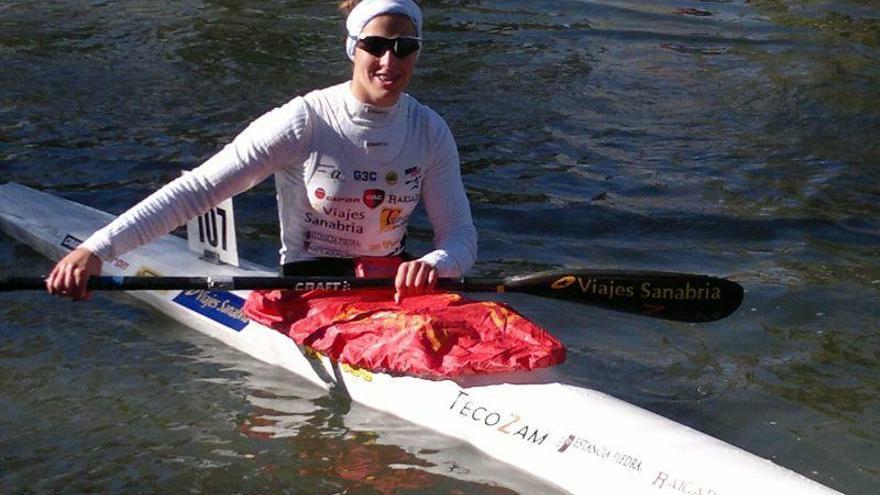 Eva Barrios, campeona de España de maratón