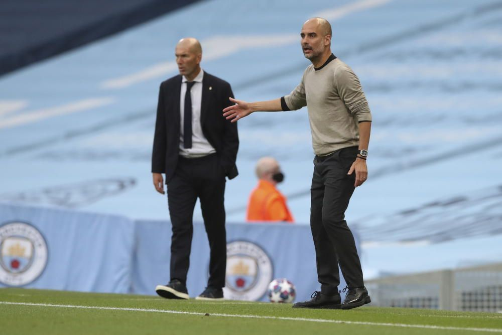 Champions League: Manchester City - Real Madrid.