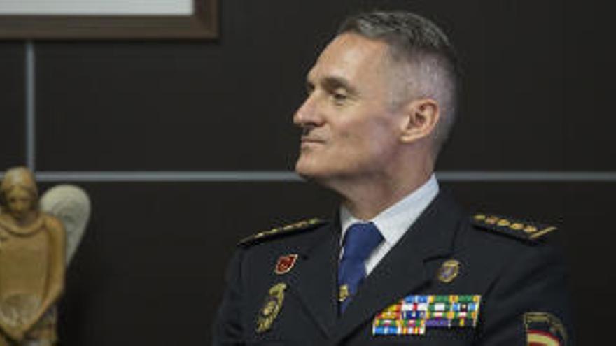 Ignacio del Olmo, nuevo comisario jefe provincial de la Policía Nacional en Alicante