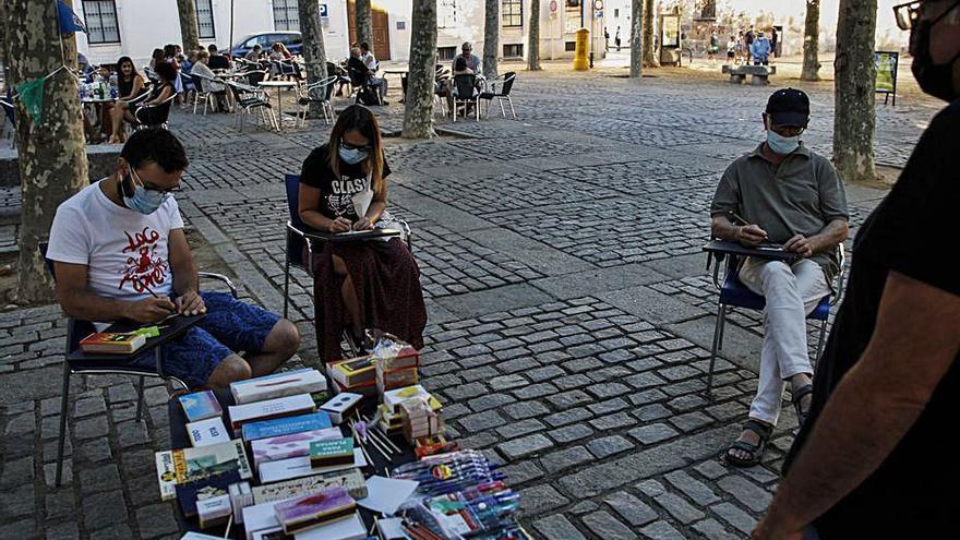 Taller de escritura de poemas en cerillas en Zamora