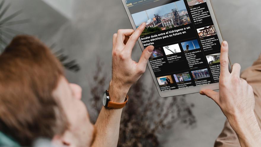LA NUEVA ESPAÑA bate récords de audiencia digital y ya es el octavo diario en web del país