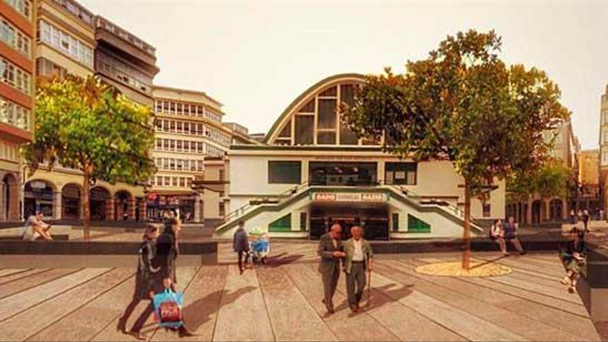 Vecinos y comerciantes de la zona se oponen a la peatonalización del entorno de San Agustín