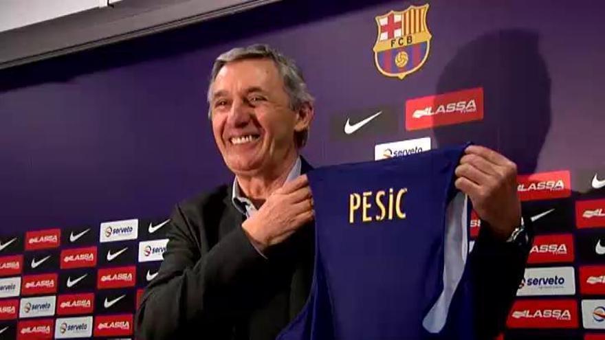 Svetislav Pesic entrenará al Barcelona hasta el final de temporada