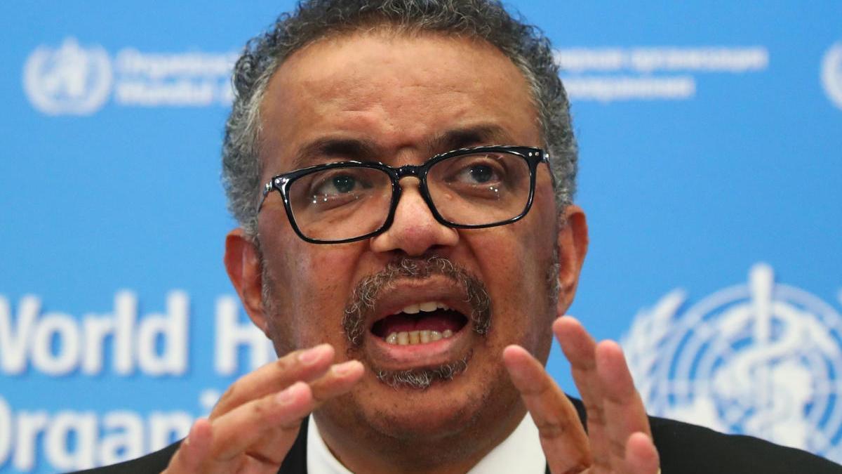 El director general de l'OMS, Tedros Adhanom Ghebreysus