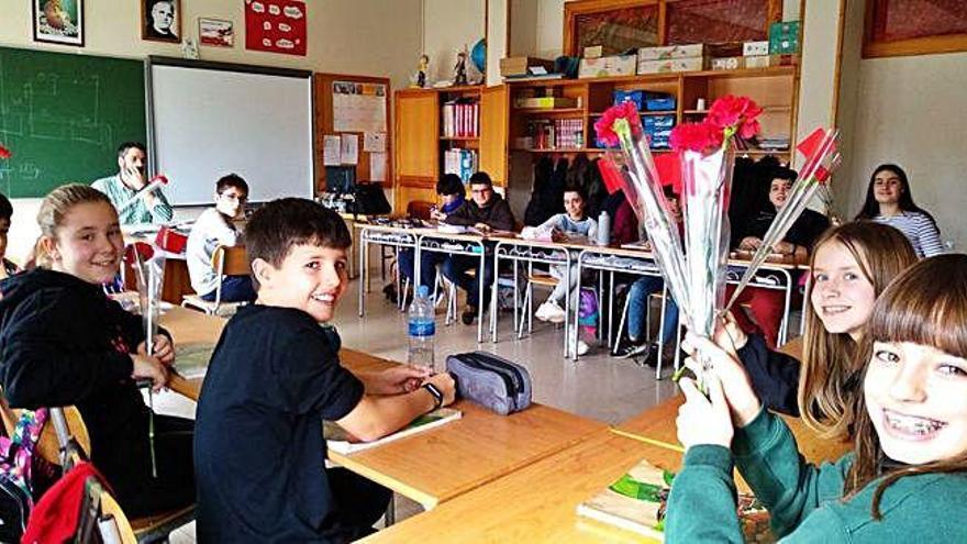 Los alumnos de Nuestra Señora del Rocío celebran San Valentín
