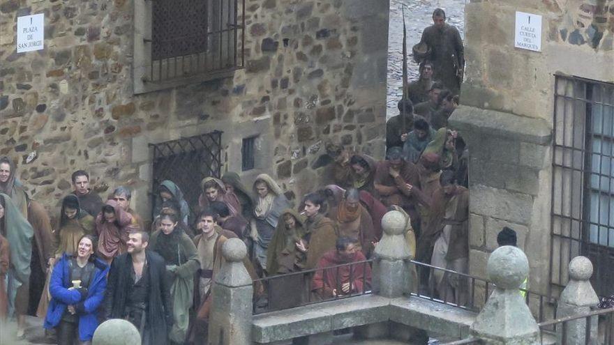 'Juego de tronos' volverá a rodar en Cáceres en otoño
