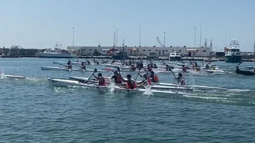 El RC Náutico de Castellón se proclama subcampeón nacional de kayak de mar