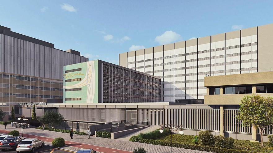 El Clínico tendrá 240 camas más y nuevas consultas externas en 2024