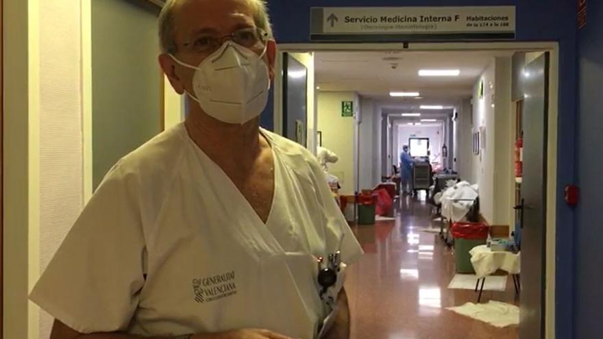 Llamamiento desesperado del jefe de Medicina Interna del Hospital Vega Baja para frenar los contagios