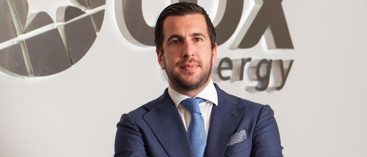El propietario de Cox Energy, Enrique Riquelme.
