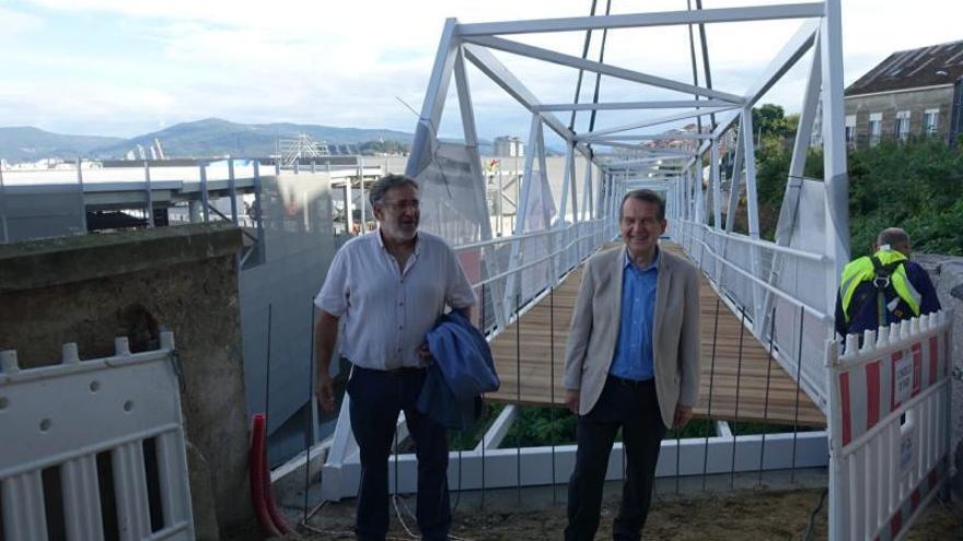 Cinco rampas mecánicas salvarán la cuesta de 15 metros en Escultor Gregorio Fernández