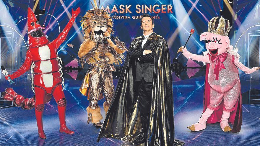 """Los Javis, Malú y Motaparticiparán en el concurso """"Mask Singer"""""""