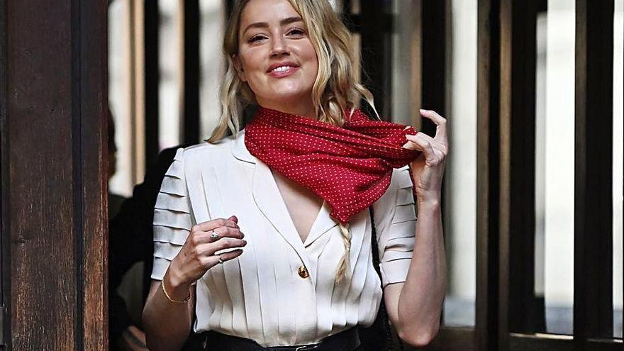 """Amber Heard asegura que """"Johnny Depp amenazó con matarme muchas veces"""""""