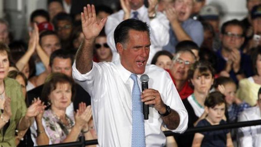 Romney se apunta una racha de cinco victorias
