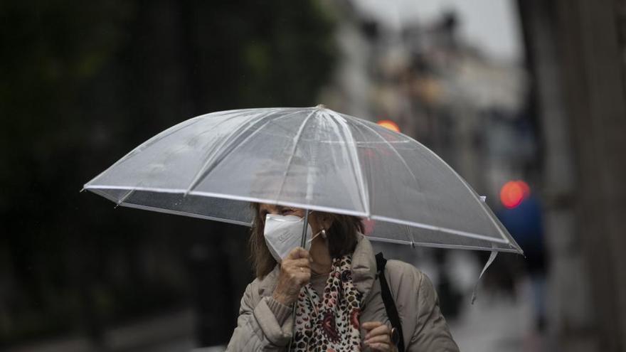 Lluvias intensas y vientos fuertes en el noroeste de Castilla y León