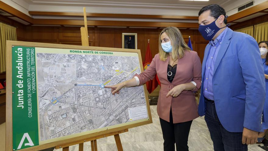 La Junta saca a concurso la redacción de la primera fase del tramo autonómico de la ronda Norte de Córdoba