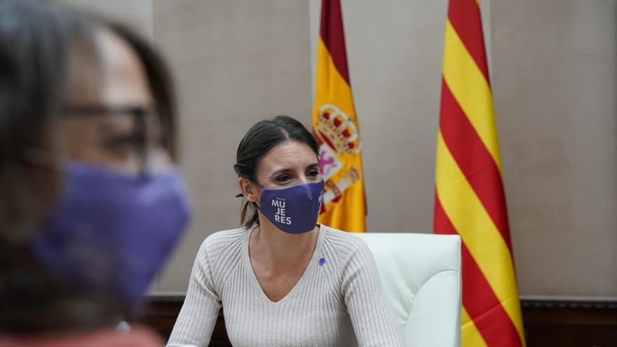"""Irene Montero confía en lograr unos presupuestos morados: """"No renunciamos a convencer al PSOE"""""""