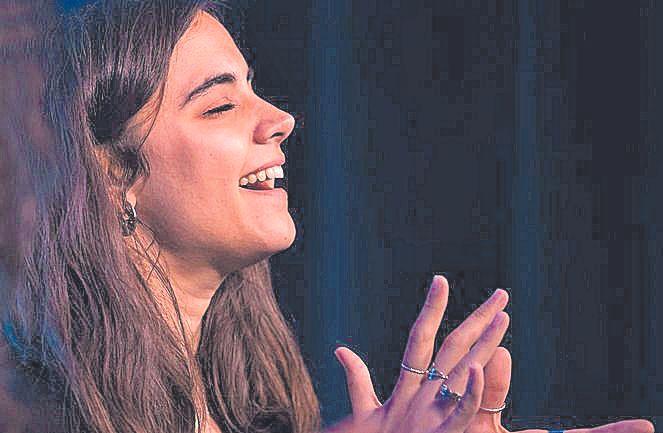 La cantante mallorquina Clara Fiol.