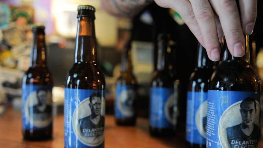 Una cerveza que rezuma oviedismo