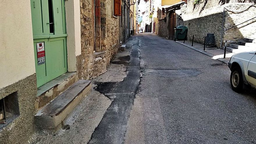 Bellver de Cerdanya pavimentarà a l'octubre carrers dels seus nuclis