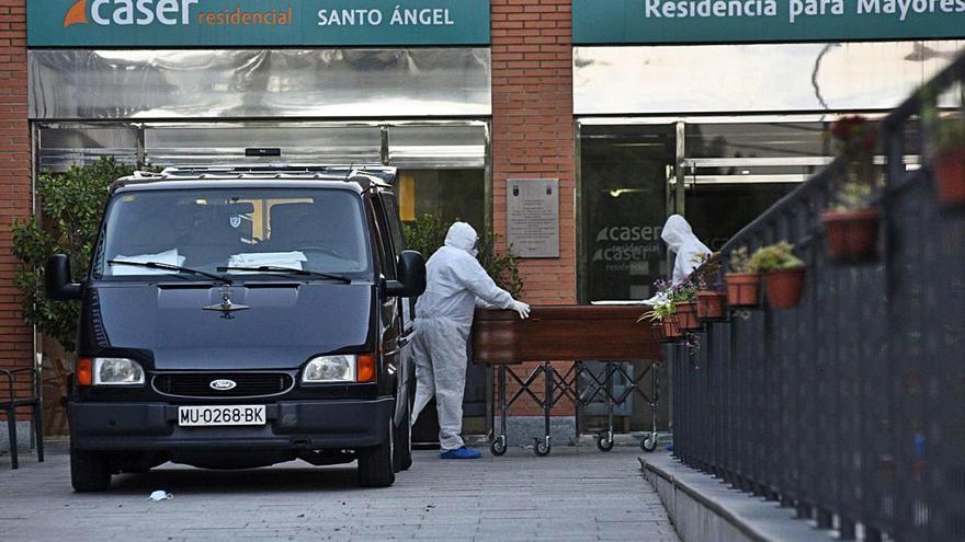 Las muertes en el primer semestre de 2020 bajan en Murcia, pese a la covid