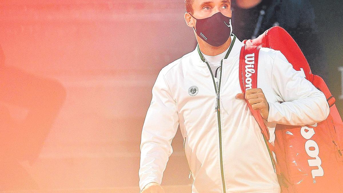 Bautista competirá esta madrugada en Indian Wells.