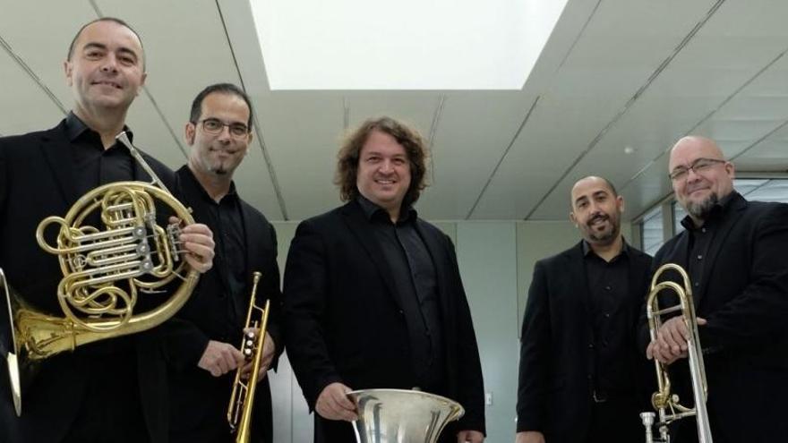 Spanish Brass celebra sus treinta años de carrera en el festival Serenates