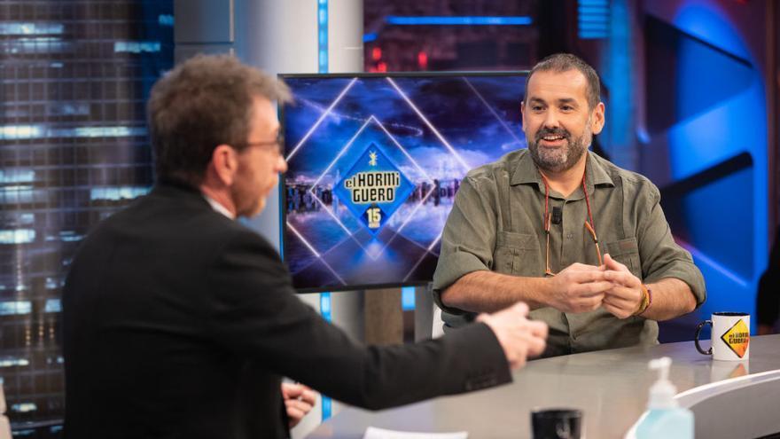"""Robin Food en el Hormiguero: """"Eres valenciano, pero los mejores arroces los hacen los alicantinos"""""""