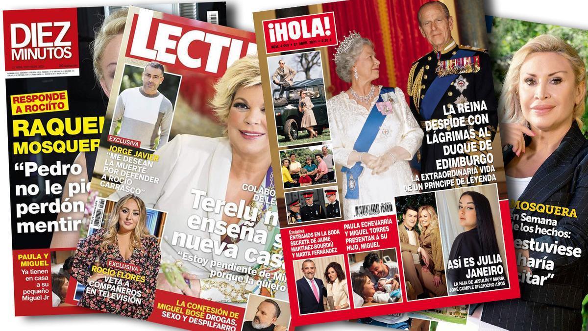Prensa Rosa: Portadas 14/04/2021