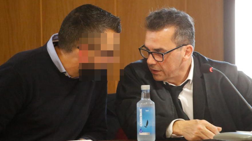 """El acusado por el crimen de Ana Enjamio: """"Estábamos juntos"""""""