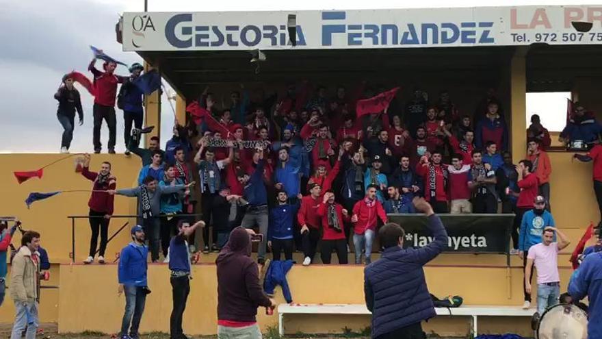 Vuitanta aficionats van convertir el Borrassà i el Sant Pere Pescador en una festa (2)
